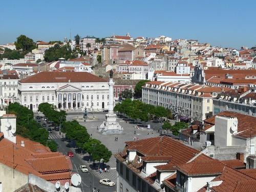 Praça D.Pedro IV ou Rossio - Lisboa, Portugal