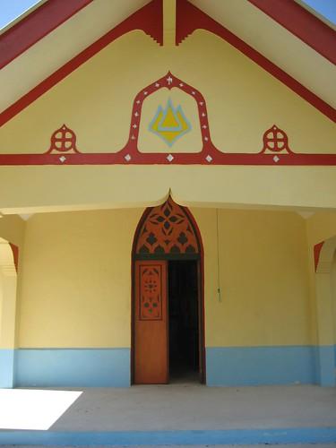 Church door - Tetmanu