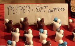 Peeper + salt bottles