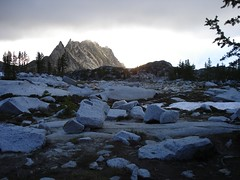 Upper Enchantments Sunrise (quinnloganmckee) Tags: hiking backpacking alpinelakes colchuck enchantments