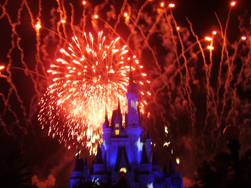 104 - Los fuegos artificiales en Magic kingdom