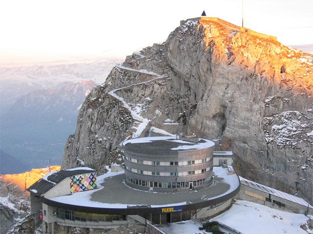 Switzerland - Mt Pilatus Hotel