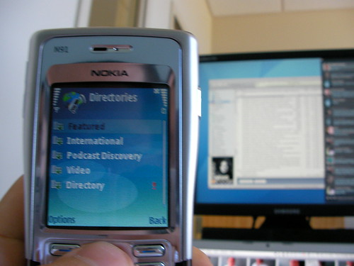 Podcasting on the Nokia N91