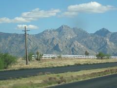 Catalina Mtns_Tucson_thru the windshield (miqaelee) Tags: arizona clouds tucson az catalinamountains somethingblue arizonasky thecloudappreciationsociety thewildwildwest thegreatsouthwest