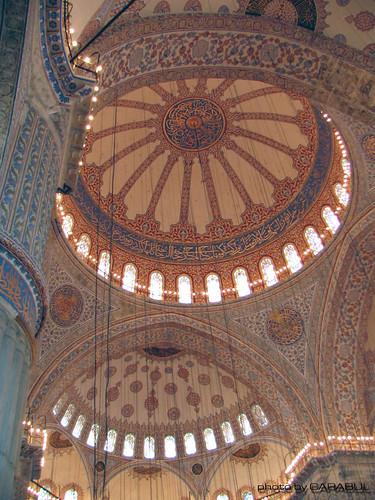 Sultanahmet Camii - Blue Mosque - Dome