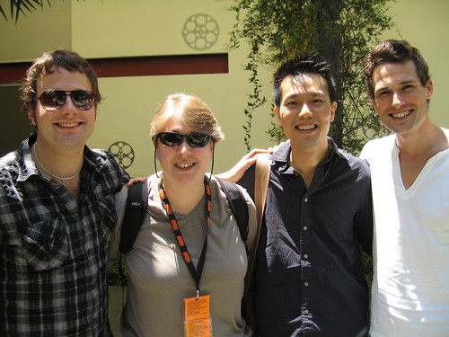 Outfest 2006 Screenwriting Lab fellows (-LM)