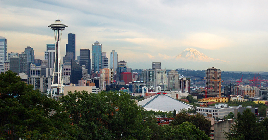 Seattle - Kerry Park Skyline View