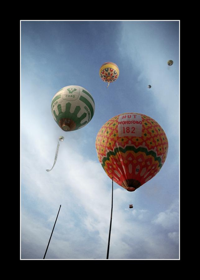 Wonosobo's Balloon Festival