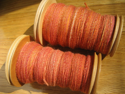 Miss Babs SW Merino batt in Sunrise! - singles