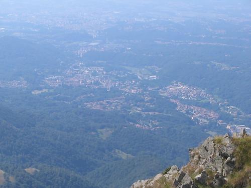 Biella vista dal Monticchio