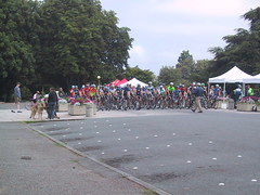Volunteer Park Criterium Masters C/D Start