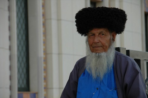 Man in Turkmenistan Doesn't Need a Visa