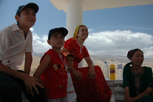 Turkmen Family Who Don't Need Visas