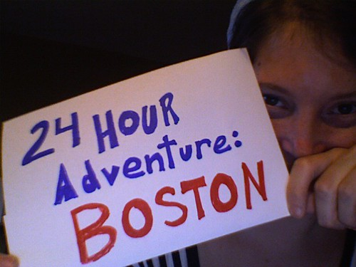 24 Hour Adventure: Boston!