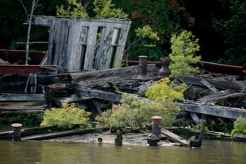 Barge Grave yard