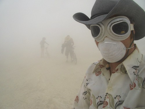 Taylor in Dust Storm