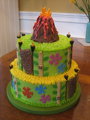 Tiki Fun (jeffmgosche) Tags: vacation holiday color cake modern fun island volcano hawaii lava mod hula maui bamboo celebration hut luau hawaiian tropical tiki
