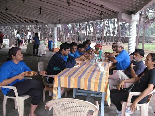 Breakfast at Hotel Mamalla