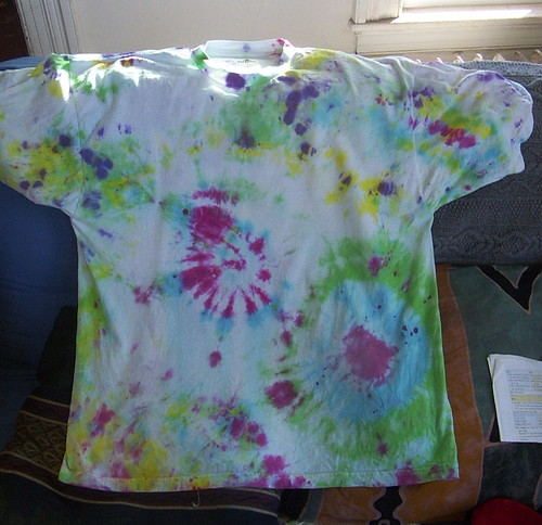 second tye-dye project: front