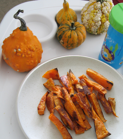 Lunch - sweet potato fries