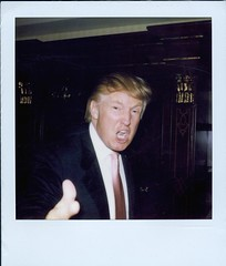 """You're Fired"" (drewbic) Tags: polaroid thedonald donaldtrump trump yourefired roid roidweek roidweek2007 trumproid"