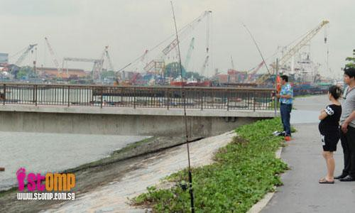 No fishing at West Coast Park: Nobody gives a damn