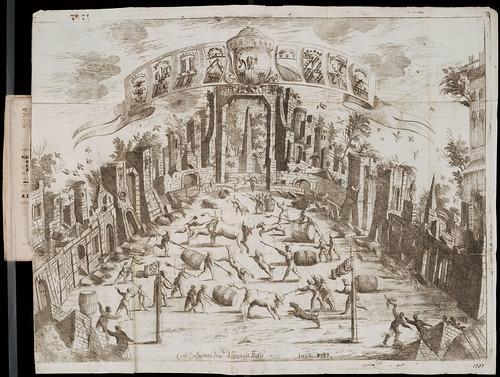 La Porchetta festa annua popolare seguita in Bologna il giorno di san Bartolomeo (1701)