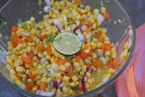 Sunny Corn Salad
