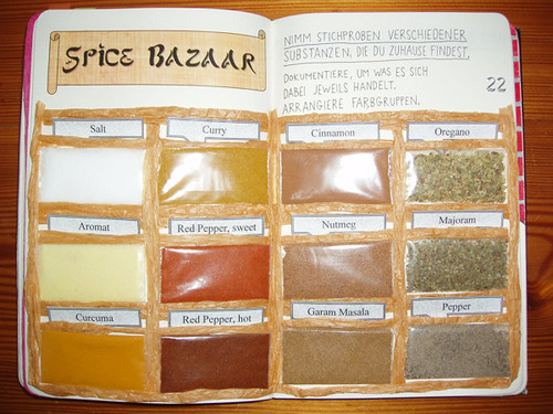 Wreck This Journal: Sample Various Substances Found In Your Home.