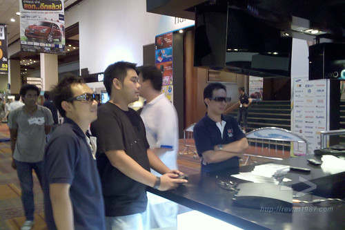 PlayStation 3 booth at Commart 2010, June