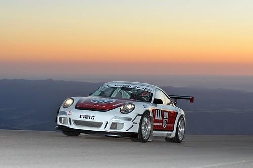 Jeff Zwart Luminox Watch Porsche 911 GT3 Cup Pikes Peak car driven by Jeff Zwart