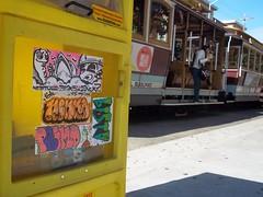 (thixmillie) Tags: sanfrancisco streetart graffiti hawaii think stickers beak 1984 scurvy hert beny frite neito blasto beak03 endr tonck