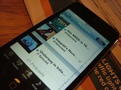 Underway on iPod