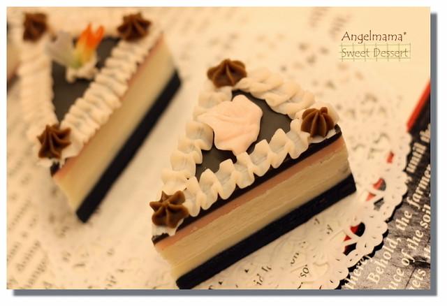天使媽媽夾心幕斯蛋糕皂1
