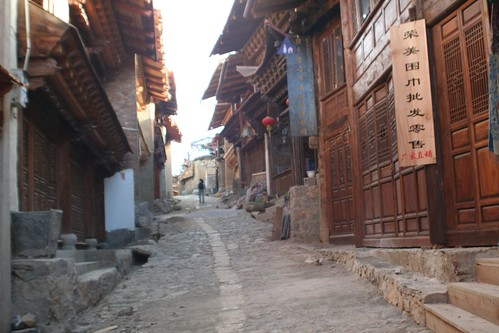 The back streets of Zhongdian