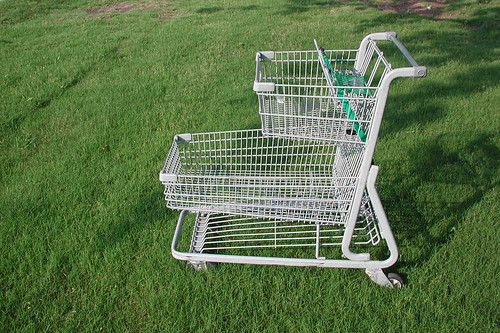 Cart on Grass