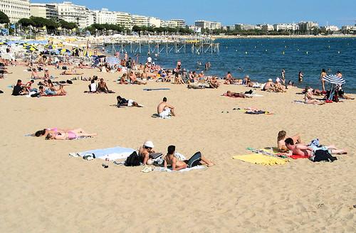 Cannes - Beach Scene