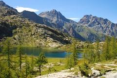 Lac Blanc (supersky77) Tags: lake alps nature lago natura alpen alpi lacblanc valdaosta lagobianco montavic unature