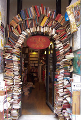 Arch books (Noel Joyeux) Tags: france book arch lyon bookstore bookshop