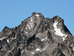 Close up shot of Mt. Stuart, as seen from the summit of Bean Peak 7.29.07.