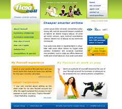 """Flexicell homepage design proposal • <a style=""""font-size:0.8em;"""" href=""""http://www.flickr.com/photos/10555280@N08/971848725/"""" target=""""_blank"""">View on Flickr</a>"""