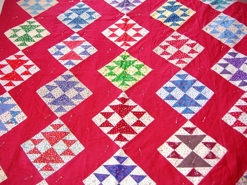 Grandma's Red Quilt