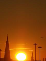 102_0391 (antw2018) Tags: morning sky sun church silhouette sunrise dawn soleil michigan detroit kirche sole sonne église morgen zon kerk eglise silhouet ochtend matin gegenlicht tegenlicht zonsopgang detroitmichigan frueh lematin silhouetten dageraad zonopgang april2007 michiganusa