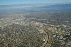 2007_08_15_bos-lax-sba_317.JPG (dsearls) Tags: city sky flying smog losangeles haze smoke flight aerial erosion sprawl windowseat sangabrielmountains sangabriels 9f anthropocene 20070815