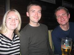 Jane, Mark and David (curlynewf) Tags: london npg narellesleaving