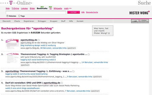 Suche | bookmarks.t-online.de | Social Bookmarking Tool