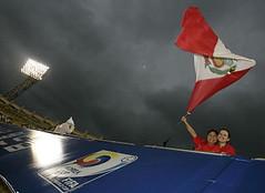 Ghana Vs Peru peruvian fans