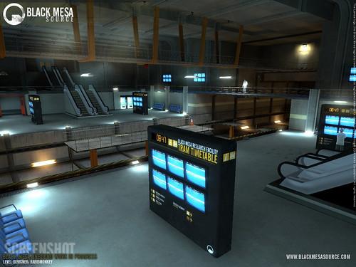 Black Mesa juego estación