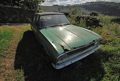 Cortina 1500 (Oliver Wood Photography) Tags: abandoned car derbyshire 1500 hathersage sigma1020mm fordcortina nikond80