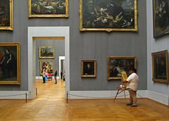 Alte Pinakothek - Munich (yushimoto_02 [christian]) Tags: people art museum canon germany painting munich mnchen geotagged person persona europe bellasartes artist arte kunst exhibition painter museo pintura ausstellung exposicion pinakothek artista kunsthalle altepinakothek exhibicion schneknste bellaarte schoenekuenste